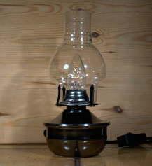 elektrische petroleumlampe. Black Bedroom Furniture Sets. Home Design Ideas